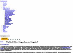 carinsurancelist.com