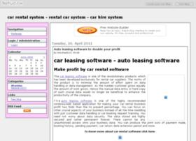 carrentalsystem.beeplog.com