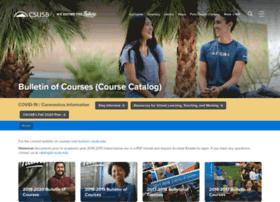 catalog.csusb.edu