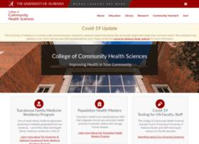 cchs.ua.edu