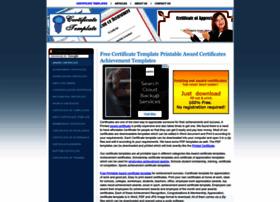 certificatetemplate.net