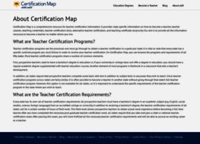 certificationmap.com