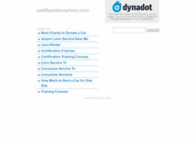 certifieddenverlimo.com