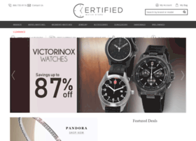 certifiedwatchstore.com