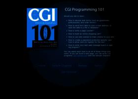 Cgi101.com