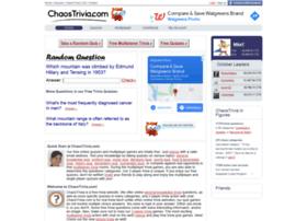 chaostrivia.com
