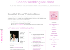 cheap-wedding-solutions.com