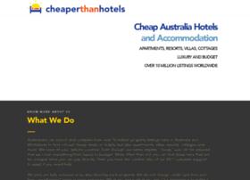 cheaperthanhotels.com.au