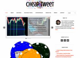 cheaptweet.com