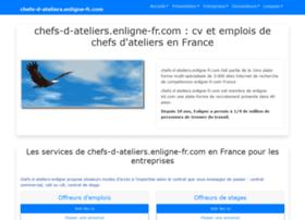 chefs-d-ateliers.enligne-fr.com