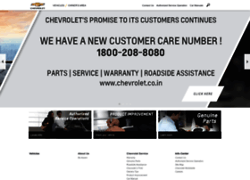 chevrolet.co.in