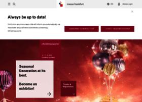 christmasworld.messefrankfurt.com