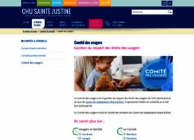 chu-sainte-justine.org