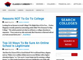 classesandcareers.net