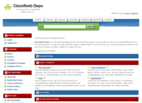 classifiedsdepo.com