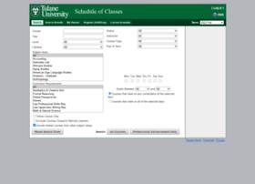 classschedule.tulane.edu