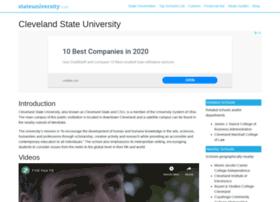 cleveland.stateuniversity.com