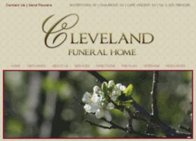 clevelandfuneralhomeinc.com