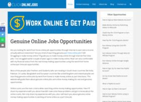 clickonlinejobs.com
