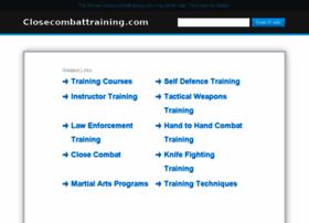 closecombattraining.com
