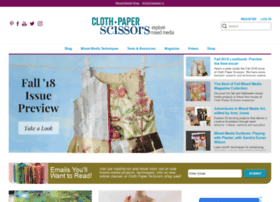 clothpaperscissors.com