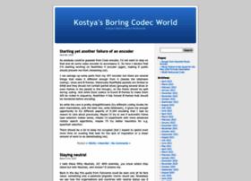Codecs.multimedia.cx