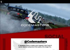 Codemasters.com