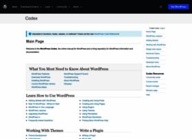 codex.wordpress.org