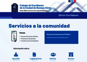 Colegio-escribanos.org.ar