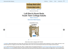 collegebedlofts.com