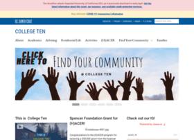 collegeten.ucsc.edu