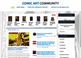 comicartcommunity.com