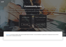 commoonity.com
