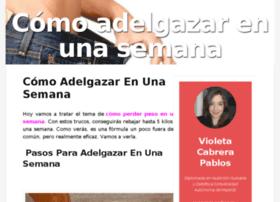 Comoadelgazarenunasemana.org