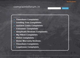 complaintsforum.in