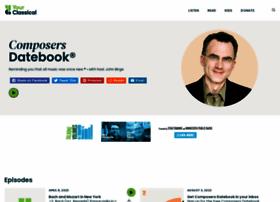 composersdatebook.publicradio.org