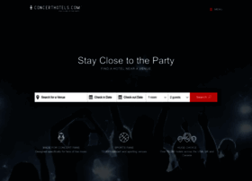 concerthotels.com