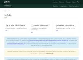concilianet.profeco.gob.mx