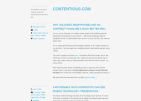 contentious.com
