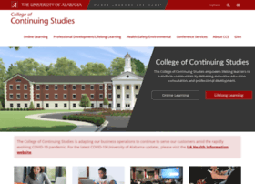 continuingstudies.ua.edu