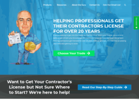 contractorlicenseservice.com