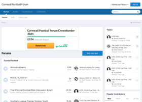 Cornwallfootballforum.com