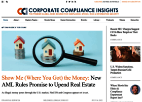 corporatecomplianceinsights.com