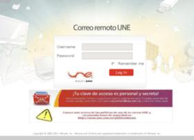 Correoremoto.une.com.co