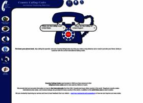 countrycallingcodes.com