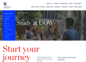coursefinder.uow.edu.au