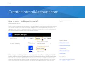 createhotmailaccount.com