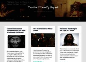 creativeminorityreport.com