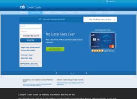 creditcards.citicards.com
