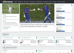 cricket-records.com